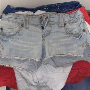 New jean shorts